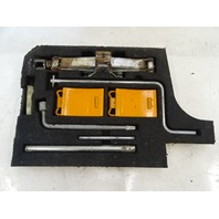 1985 Nissan Z31 300ZX tire jack with tools and tray