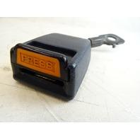 1985 Nissan Z31 300ZX seat belt buckle, clip receiver, right blue