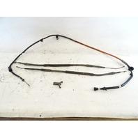 1985 Nissan Z31 300ZX parking brake cables set 36402-01P00 36530-02P02 36531-02P02