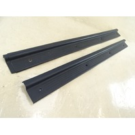 1985 Nissan Z31 300ZX trim set, interior door sills, blue 76953-01P10 76953-01P10
