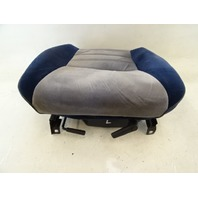 1985 Nissan Z31 300ZX seat cushion, bottom, left, blue gray w/track