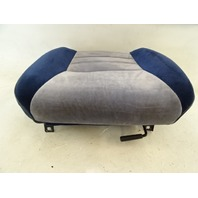 1985 Nissan Z31 300ZX seat cushion, bottom, right, blue gray w/track