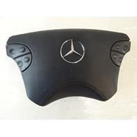 2000 Mercedes W463 G500 airbag, left steering wheel, leather, black