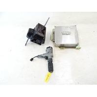 2000 Mercedes W463 G500 engine ignition computer w/ shifter & key fob 4635452023