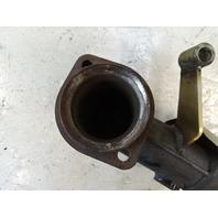 2000 Mercedes W463 G500 exhaust muffler pipe