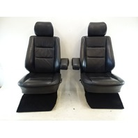 2000 Mercedes W463 G500 seats, front, left and right, black