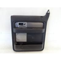 11 Ford F150 Raptor door panel, right rear BL3V-1627406-AA1FC9 black
