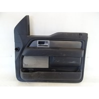11 Ford F150 Raptor door panel, right front BL3V-1823942-DE1FC9 black