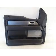 11 Ford F150 Raptor door panel, left front BL3V-1823943-DE1FC9 black