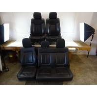11 Ford F150 Raptor seats, front and rear, leather, black