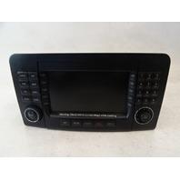 07 Mercedes W164 ML320 CDI monitor, navigation multi display 1648201779