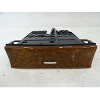 07 Mercedes W164 ML320 CDI ashtray, center console, w/wood, front 1648100130