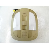 07 Mercedes W164 ML320 CDI lamp, dome light, front 1644420023 2518200610 beige