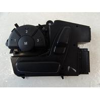 07 Mercedes W164 ML320 CDI switch, seat adjust, left front 1648704310 black