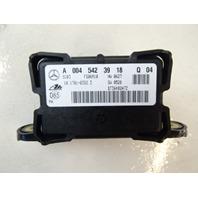 07 Mercedes W164 ML320 CDI sensor, yaw rate accelerometer 0045423918