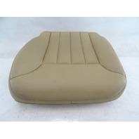 07 Mercedes W164 ML320 CDI seat cushion, bottom right 1649107846 beige