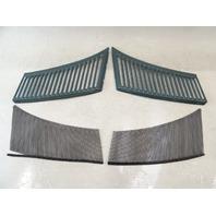 85 Mercedes R107 380SL grill set, for cowl air intake