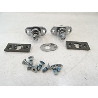 85 Mercedes R107 380SL latch set, for convertible or hard top lock, front