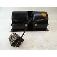 85 Mercedes R107 380SL blower motor fan w/ 7 pin regulator