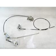 85 Mercedes R107 380SL convertible top boot lock / latch / mechanism