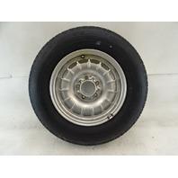85 Mercedes R107 380SL wheel, 6.5x14 1264002102 silver