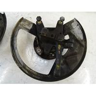 Porsche 944 951 Turbo steering knuckle set, front, turbo 95134165501 95134165601 86