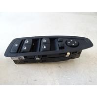 14 BMW F30 328i 328 switch, window mirror master, left 9208111
