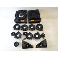 14 BMW F30 328i 328 speaker set, tweeter, woofer 619289 65139289965 619289