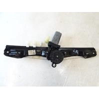 14 BMW F30 328i 328 window motor & regulator, left rear 7351049