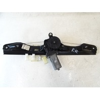 14 BMW F30 328i 328 window motor & regulator, right rear 7351050