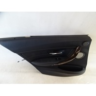14 BMW F30 328i 328 door panel, left rear, black