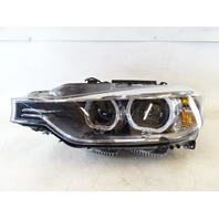 14 BMW F30 328i 328 lamp, headlight, left front 63117338707 DAMAGED