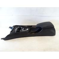 14 BMW F30 328i 328 center console, w/armrest, w/ wood trim, cup holder 51169360522