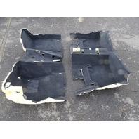 14 BMW F30 328i 328 carpets, floor, set, black