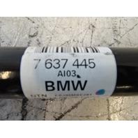 14 BMW F30 328i 328 axle, output shaft, left rear 7637445 RWD