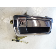 94 Jaguar XJS door handle, exterior, right front, chrome