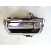 94 Jaguar XJS door handle, exterior,left front, chrome