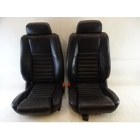 94 Jaguar XJS seats, front, black