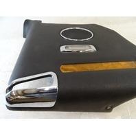 94 Jaguar XJS trim, interior, quarter panel, left rear BEC18921 black