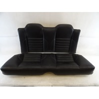 94 Jaguar XJS seats, rear, black