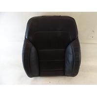 2017 Mercedes X166 GLS550 GL550 seat cushion, back, left front, black