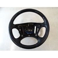 12 Mercedes W463 G550 G55 steering wheel, black leather / wood 4634602703