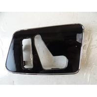 12 Mercedes W463 G550 G55 trim, seat switch surround, left front 4637250082 black