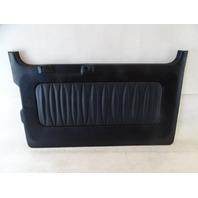 12 Mercedes W463 G550 G55 door panel, back 5th door, black 4637403170