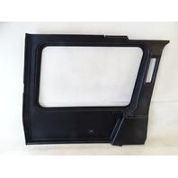 12 Mercedes W463 G550 G55 trim, interior quarter panel, left, black 4636900726