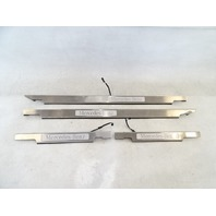 12 Mercedes W463 G550 G55 trim set, illuminated door step sill scuff plate 4636807035 4636806935