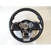 19 Subaru Crosstrek steering wheel, leather w/o heat  34312FL082VH