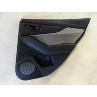 19 Subaru Crosstrek door panel, right rear, gray cloth