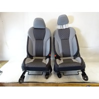 19 Subaru Crosstrek seats front, set grey cloth