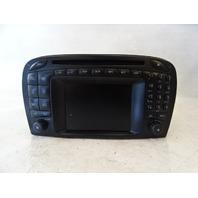 04 Mercedes R230 SL500 SL55 navigation unit, command center, radio, 2308202889
